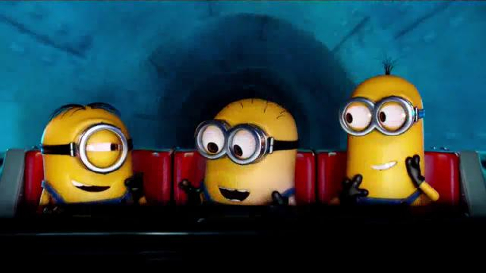 Universal Studios Hollywood TV Commercial, 'Despicable Me: Minion Mayhem Ride'