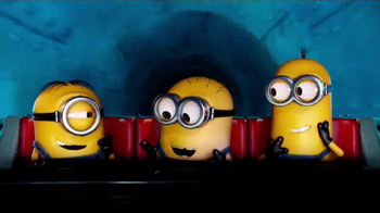 Universal Studios Hollywood TV Spot, 'Despicable Me: Minion Mayhem Ride'