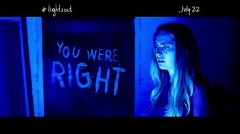 Lights Out - Alternate Trailer 1