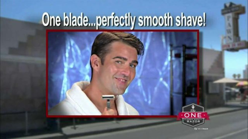 MicroTouch One Razor TV Commercial, 'All You Need'