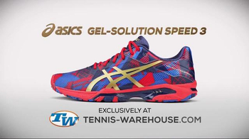 Tennis Warehouse TV Spot, 'Asics Men's Gel-Solution Speed 3'