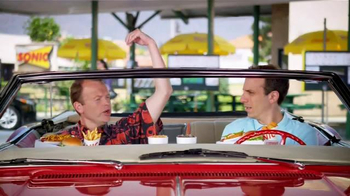Sonic Drive-In $5 SONIC Boom Box TV Spot, 'Lincoln' - 298 commercial airings
