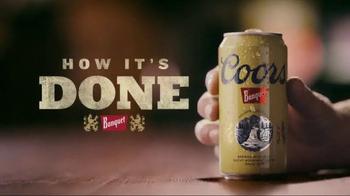 Coors Banquet TV Spot, 'How It's Done: Golden' - Thumbnail 3