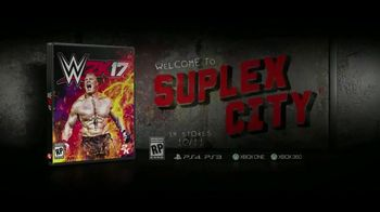 WWE 2K17 TV Spot, 'Welcome to Suplex City' Featuring Brock Lesnar - 9 commercial airings