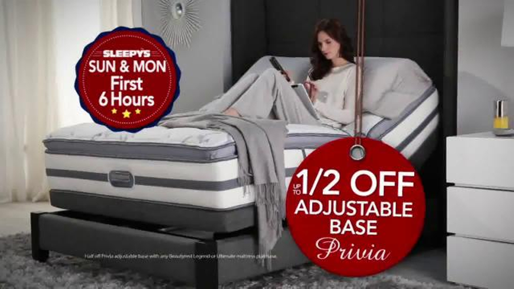 Sleepy's 4 Day Doorbuster Weekend TV Commercial, 'Queen Sets and Spring Air'