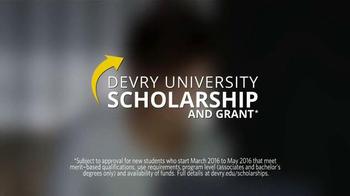 DeVry University Scholarship and Grant TV Spot, 'In Your Corner' - Thumbnail 7