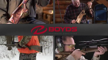Boyds Hardwood Gunstock TV Spot, 'Coolest Gun in Camp' - Thumbnail 9