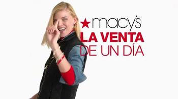 Macy's La Venta de un Día TV Spot, 'Compra ahorrando' [Spanish] - Thumbnail 1