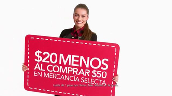 Macy's La Venta de un Día TV Spot, 'Compra ahorrando' [Spanish] - Thumbnail 3