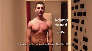 The Flex Belt TV Spot, 'Before and After' Featuring Adrianne Curry - Thumbnail 5