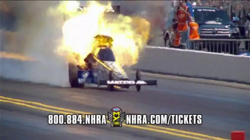 NHRA TV Spot, 'CARQUEST Auto Parts Nationals & Amalie Gatornationals'