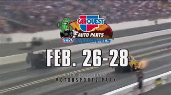 NHRA TV Spot, 'CARQUEST Auto Parts Nationals & Amalie Gatornationals' - Thumbnail 5