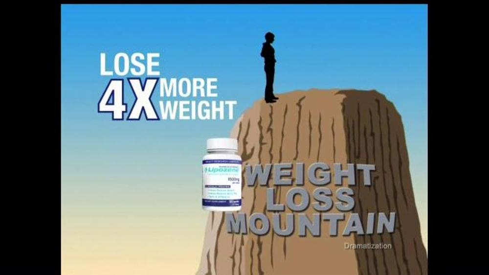Lipozene TV Commercial, 'Weight Loss Mountain'