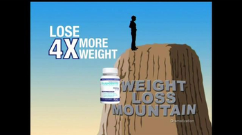 Lipozene TV Spot, 'Weight Loss Mountain'