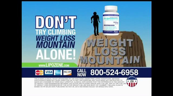 Lipozene TV Spot, 'Weight Loss Mountain' - Thumbnail 8