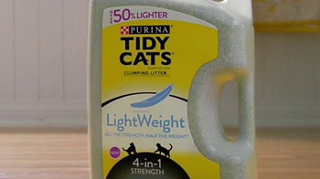 Purina Tidy Cats LightWeight 4-in-1 TV Spot, 'Bubbles' - Thumbnail 1