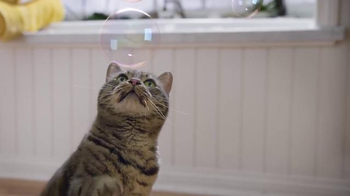 Purina Tidy Cats LightWeight 4-in-1 TV Spot, 'Bubbles' - Thumbnail 3