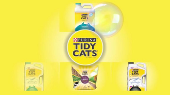 Purina Tidy Cats LightWeight 4-in-1 TV Spot, 'Bubbles' - Thumbnail 7