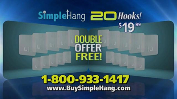 Simple Hang Hooks TV Spot, 'Hang Anything' - Thumbnail 7