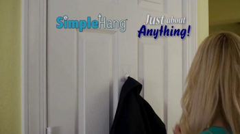 Simple Hang Hooks TV Spot, 'Hang Anything' - Thumbnail 1