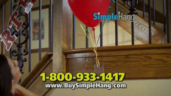 Simple Hang Hooks TV Spot, 'Hang Anything' - Thumbnail 4