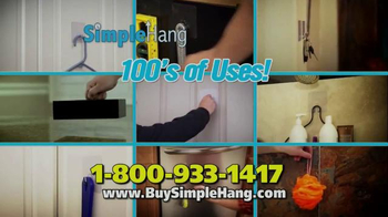 Simple Hang Hooks TV Spot, 'Hang Anything' - Thumbnail 6