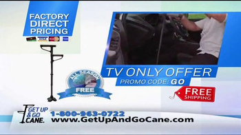 Get Up & Go Cane TV Spot, 'Standing' - Thumbnail 10