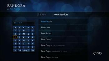 XFINITY X1 Entertainment Operating System TV Spot, 'Pandora App' - Thumbnail 4