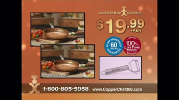 Copper Chef 360 Pan TV Spot, 'The Latest in Ceramic Technology' - Thumbnail 8