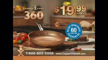 Copper Chef 360 Pan TV Spot, 'The Latest in Ceramic Technology' - Thumbnail 7