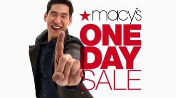 Macy's One Day Sale TV Spot, 'Jewelry, Handbags, Dress Shirts and Ties' - Thumbnail 7