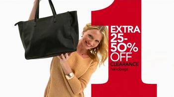 Macy's One Day Sale TV Spot, 'Jewelry, Handbags, Dress Shirts and Ties' - Thumbnail 4