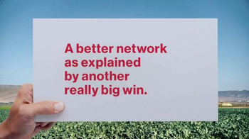 Verizon TV Spot, 'A Better Network as Explained by Another Really Big Win' - Thumbnail 1