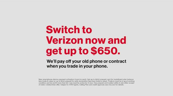 Verizon TV Spot, 'A Better Network as Explained by Another Really Big Win' - Thumbnail 10