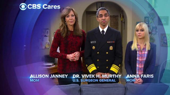 CBS Cares TV Spot, 'Drug Abuse' Featuring Allison Janney, Anna Faris - 30 commercial airings