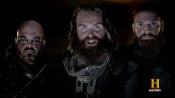 GEICO TV Spot, 'History Channel: Vikings Raid' - 84 commercial airings