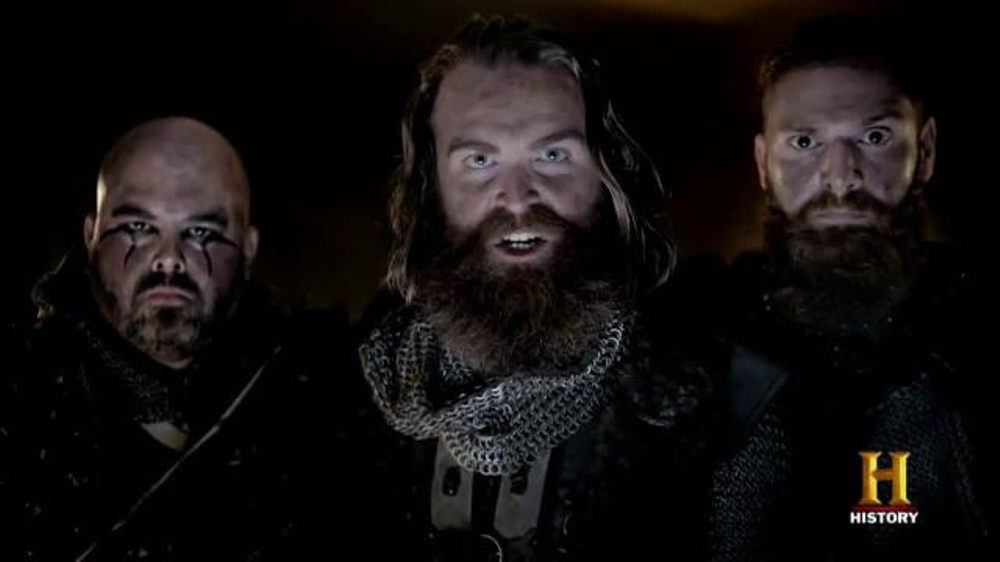 geico tv commercial history channel vikings raid ispot tv
