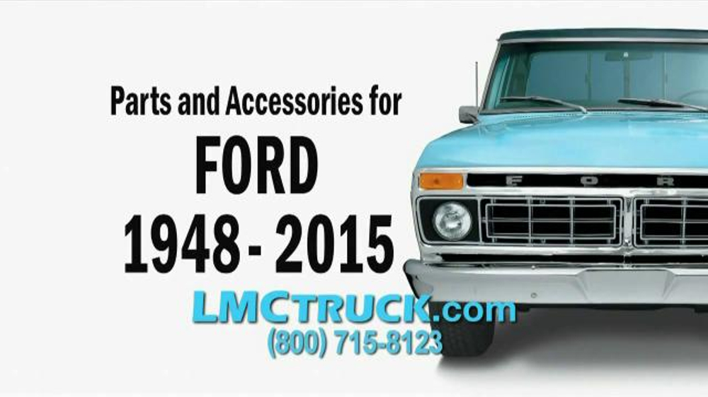LMC Truck TV Commercial, 'Parts and Accessories' - Video