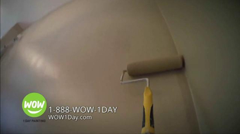 Wow 1 Day Painting TV Spot, 'We Are Wow' - Thumbnail 4