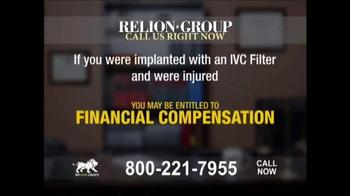 Relion Group TV Spot, 'IVC Filter Alert' - Thumbnail 4