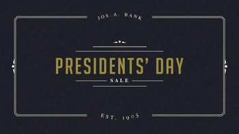 JoS. A. Bank Presidents' Day Sale TV Spot, 'Suits and Sportcoats' - Thumbnail 2