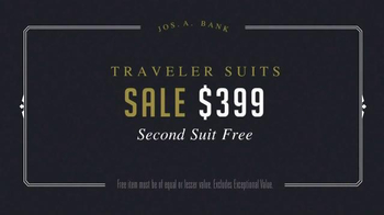 JoS. A. Bank Presidents' Day Sale TV Spot, 'Suits and Sportcoats' - Thumbnail 3