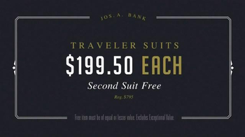 JoS. A. Bank Presidents' Day Sale TV Spot, 'Suits and Sportcoats' - Thumbnail 4