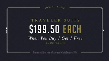 JoS. A. Bank Presidents' Day Sale TV Spot, 'Suits and Sportcoats' - Thumbnail 5