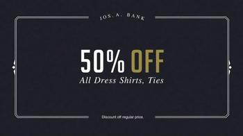 JoS. A. Bank Presidents' Day Sale TV Spot, 'Half Off' - Thumbnail 4