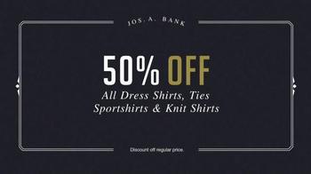 JoS. A. Bank Presidents' Day Sale TV Spot, 'Half Off' - Thumbnail 6