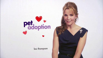 Hallmark Channel Pet Project TV Spot, 'Adopt a Pet' Featuring Lea Thompson