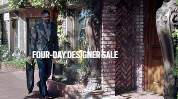 Men's Wearhouse Four-Day Designer Sale TV Spot, 'Suits & Dress Shirts' - Thumbnail 1