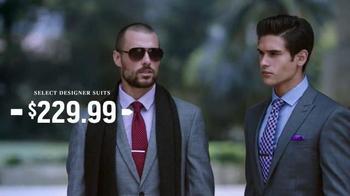 Men's Wearhouse Four-Day Designer Sale TV Spot, 'Suits & Dress Shirts' - Thumbnail 3
