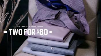 Men's Wearhouse Four-Day Designer Sale TV Spot, 'Suits & Dress Shirts' - Thumbnail 4